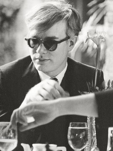 Andy Warhol shot by Dennis Hopper, circa 1961