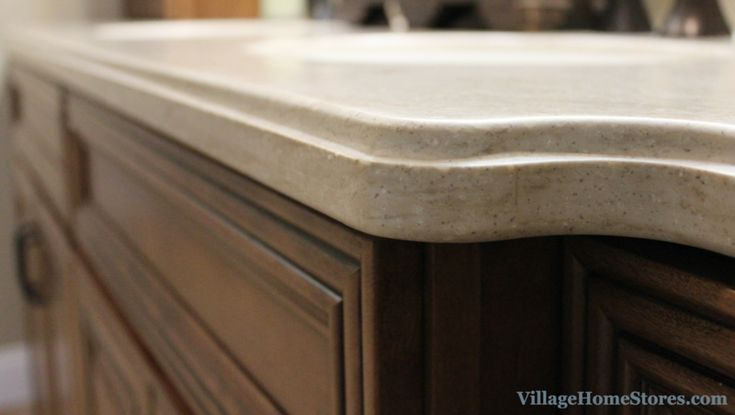 An Ogee Edge Profile Installed On A Corian Quot Tumbleweed