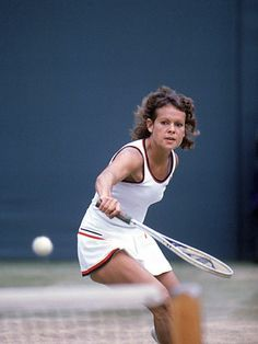 Evonne Goolagong Cawley - not only a great player, but a class act all the way.
