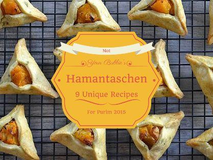 Not Your Bubbie's Hamantaschen: 9 Unique Recipes for Purim 2015 | Masa Israel