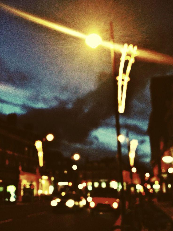 City lights, echos of my soul