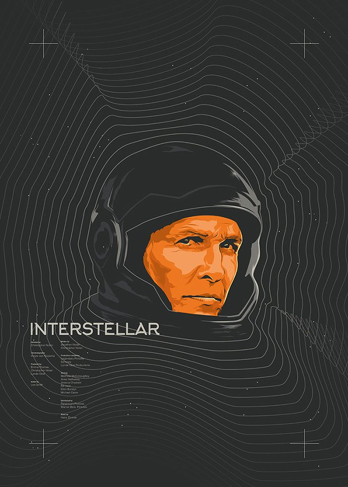 Interstellar by Tibor Lovas - Home of the Alternative Movie Poster -AMP-