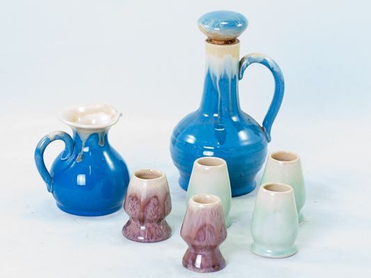 Remued late series liqueur pottery