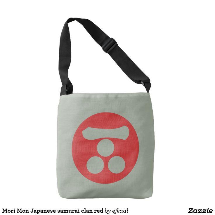 Mori Mon Japanese samurai clan red Tote Bag
