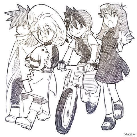 pokemon special Kanto Four Yellow chapter