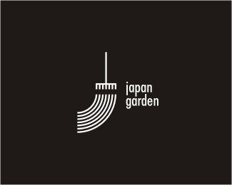 Japan garden minimal design ⊳ logo   #logo #design #graphic