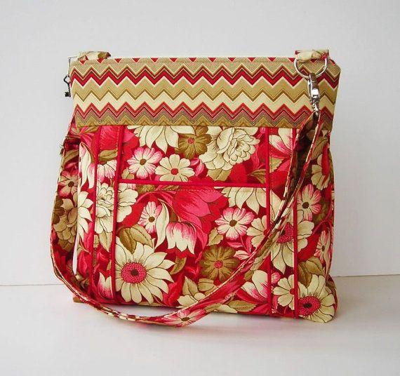 Retro floral bag