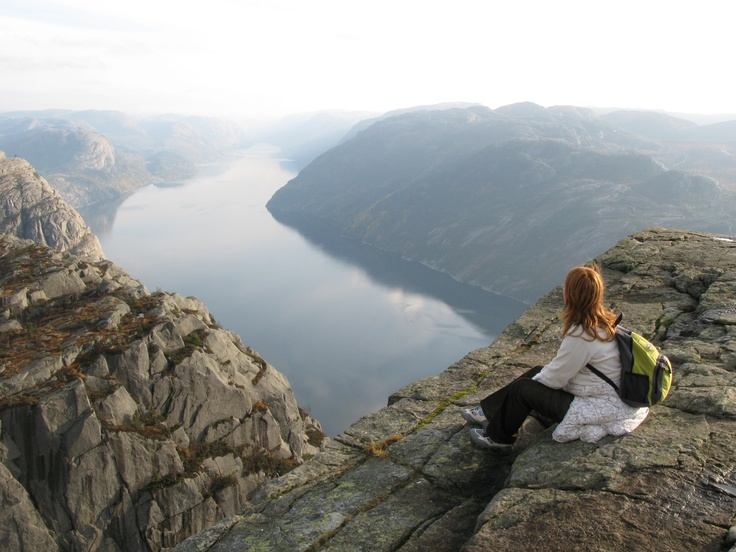 Trekking, climbing and then, feeling on top of the world. #makesmehappy @White Stuff UK