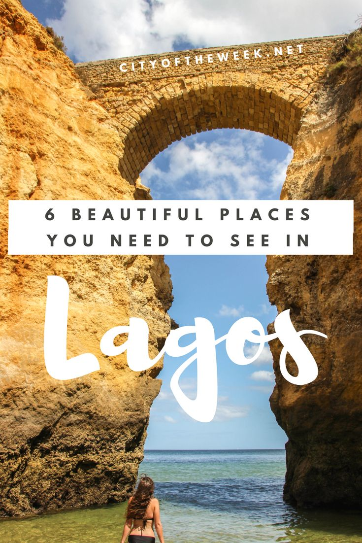 6 Must-see Places in Lagos, Western Algarve, Portugal - Visit the post to get all the info!