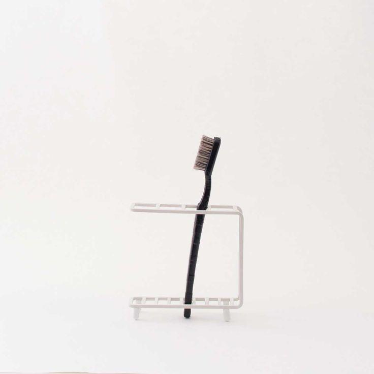 【楽天市場】【全国一律送料390円】歯ブラシスタンド 歯ブラシホルダー 歯ブラシ立て [b2c バスワイヤー/歯ブラシスタンド]:sarasa design store