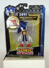 "Sonic The Hedgehog 20Th Anniversary 5"""" Modern Sonic 2011 Plastic Action Figure"