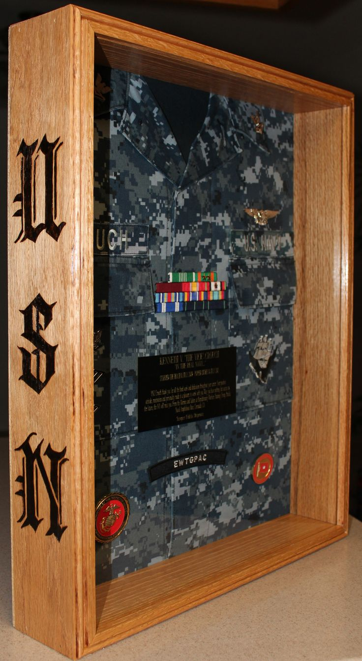 21 Best Shadow Box Ideas Images On Pinterest Military