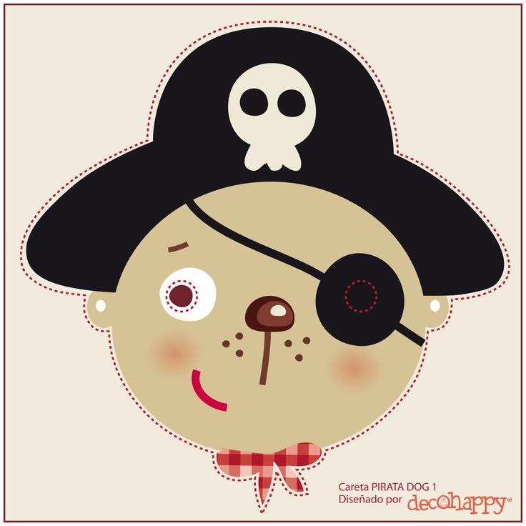 Careta pirata dog