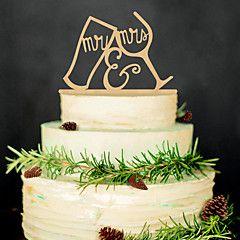 Legno+Decorazioni+di+nozze-1Piece+/+Set+Primavera+Estate+Autunno+Inverno+Non+personalizzato+–+EUR+€+5.86