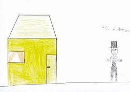 My dad is an architect, and he has builded our house. I would love to have a bed created like a house, so I can have my own house inside my parents house. Luke, 7 years