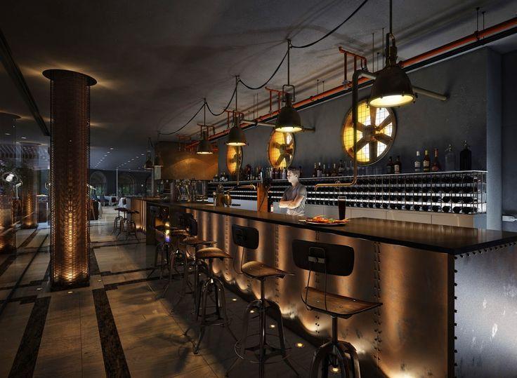 Viz Art: Ресторан в стиле стимпанк