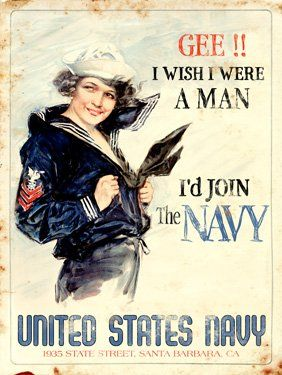 Love these old military recruitment posters. I'd love to put them up in Jack's room.