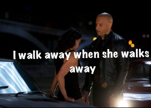 Sometimes you have to walk away first when they're unfaithful and lack respect for you. .....