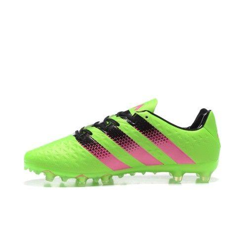 Adidas ACE Fotbollsskor - Nyaste Adidas ACE 16.1 FG AG Gron Persika Fotbollsskor