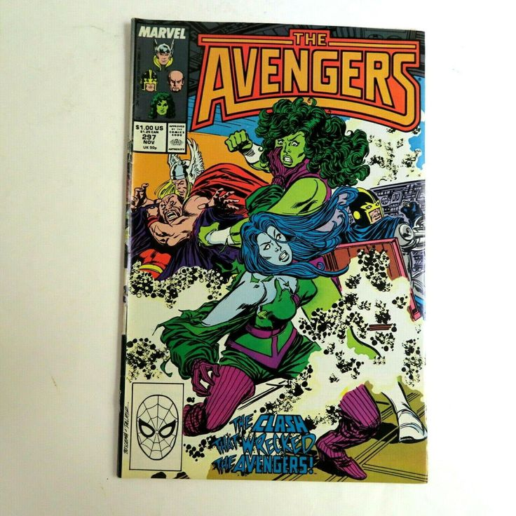 Avengers 297 (1989) Ravonna Marvel A2 by HeroesRealm on