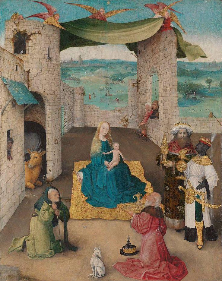 The Adoration of the Magi Hieronymus Bosch (1468-1560)
