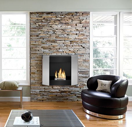The Kosha ethanol fireplace from zenflames.com