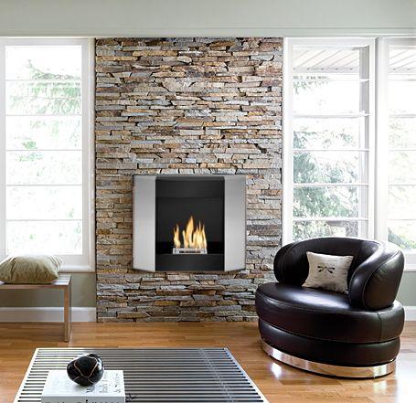 The Kosha ethanol fireplace from zenflames.com