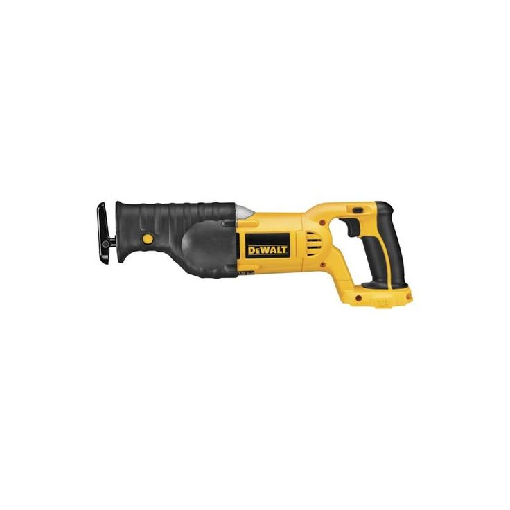 "DeWalt DC385B 18 Volt Cordless Reciprocating Saw with 1-1/8"" Stroke Length and 3 Power Tools Saws Reciprocating Saws"