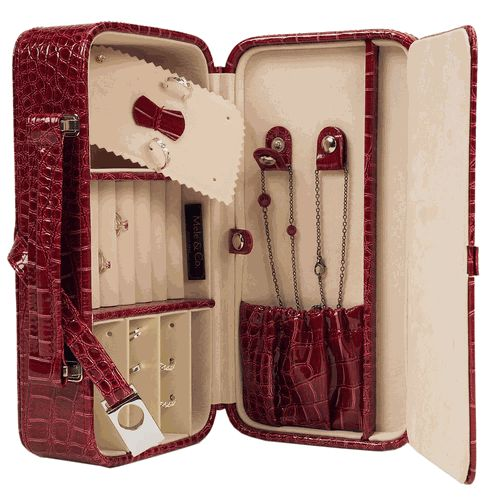 Love this travel jewelry case! Compartments for everything.