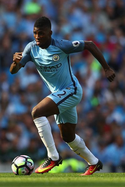 Kelechi Iheanacho of Manchester City during the Premier League match  between…