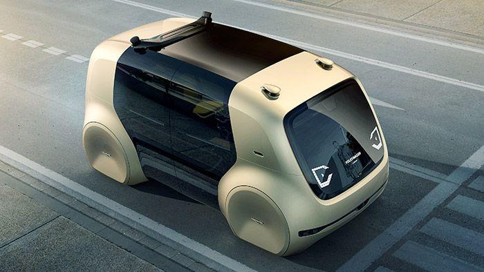 Volkswagen představil koncept zcela autonomního vozidla Sedric