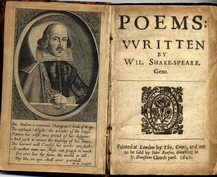 Rare and Collectible Books by William Shakespeare