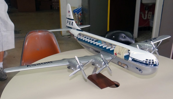 Boeing 377 Stratocruiser Cutaway Model from Atlantic ...