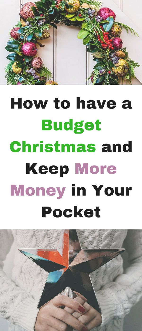 How to have Christmas on a budget and keep more money in your pocket, by Emma at Mums Savvy Savings. #BudgetChristmas #ChristmasSavings #SavingMoney