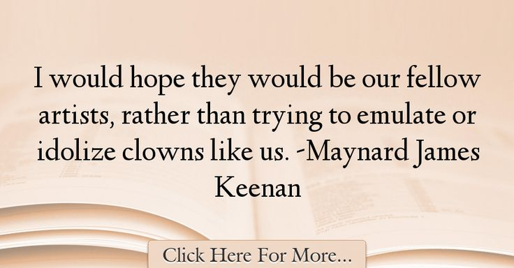 James Maynard Keenan Quotes: 17 Best Quotes About Hope On Pinterest