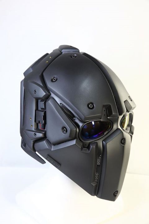 Airsoft Helmet - Plastic bullet proof
