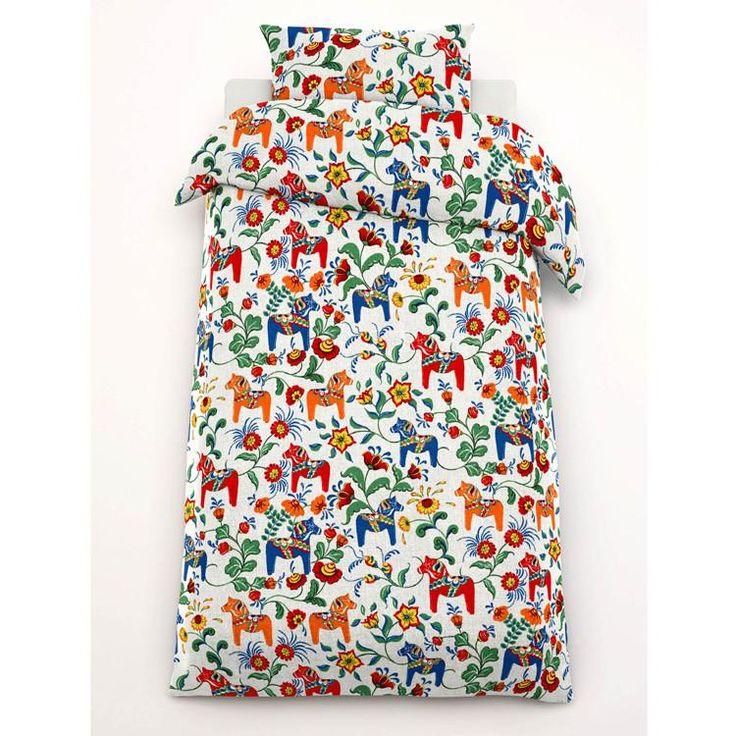 Arvidssons Textil ~ Leksand påslakanset enkelsäng