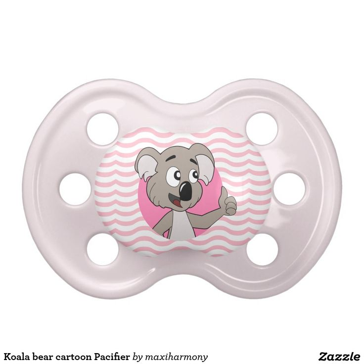 Koala bear cartoon Pacifier