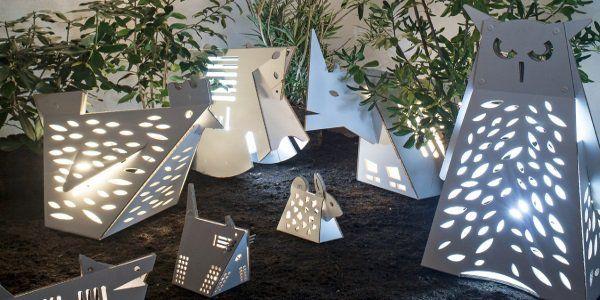 lampade per il giardino e la casa