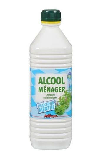 L'alcool ménager pour un linge plus blanc que blanc