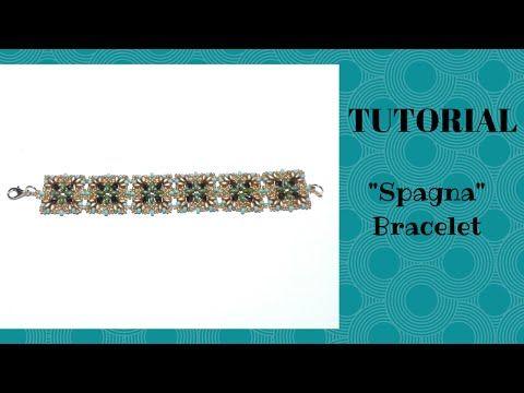 """Tutorial perline: come realizzare un bracciale """"Spagna"""" con superduo e cipollotti - YouTube"""
