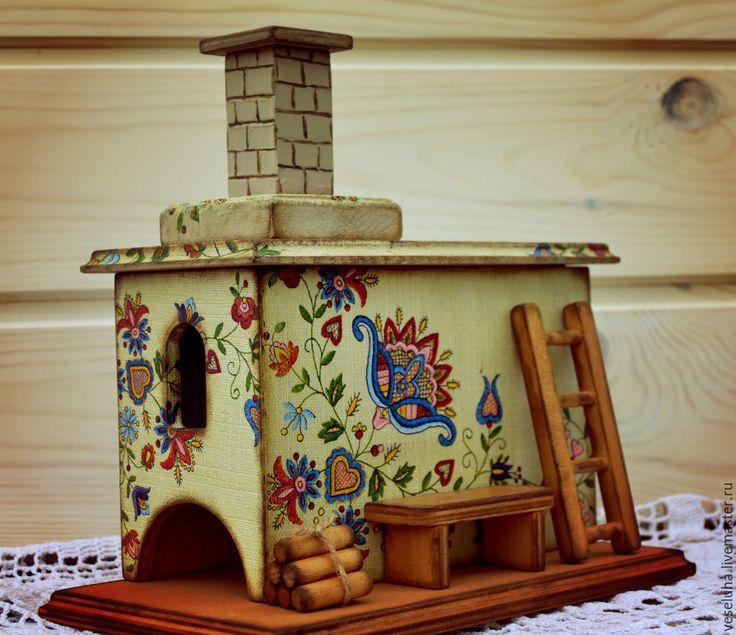 Купить Печь...для чайных пакетиков - печь, печка, русская печь, печка русская, интерьер