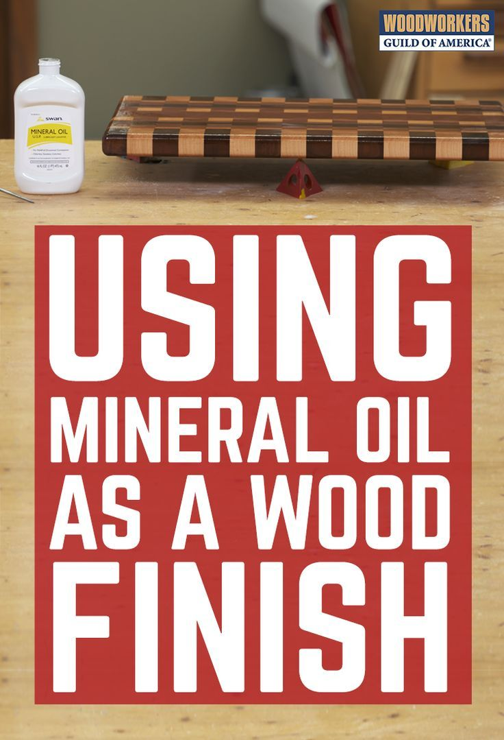 Simple Trick For Dispensing Mineral Oil On Wood Proyectos De