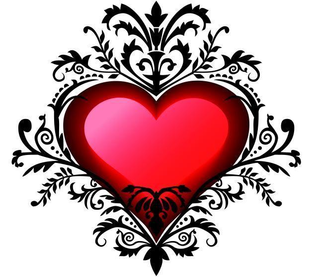 La historia de los tatuajes de corazones - Cuerpo y Arte