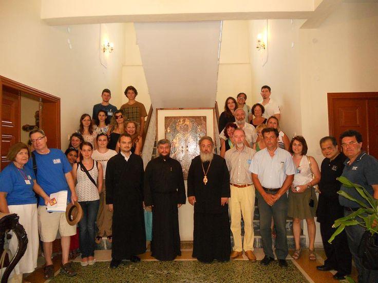 Τον Σεβασμιότατο Μητροπολίτη κ. Χρυσόστομο επισκέφτηκαν οι αντιπροσωπείες των χορωδιών
