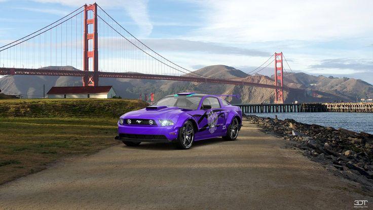Checkout my tuning #Ford #Mustang 2011 at 3DTuning #3dtuning #tuning