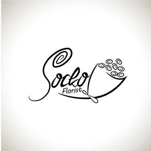 design logo for socko florist