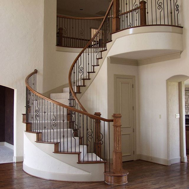 Versatile Series Staircase by House of Forgings  #stairs #staircase #steps #design #style #inspiration #homesweethome #home #inspiration #interior #interiordesign #art #photooftheday #photography #iron #wood #contemporary #traditional #architecture #luxury #beautiful #remodel #insta #instagood #instadaily #instamood #instalike