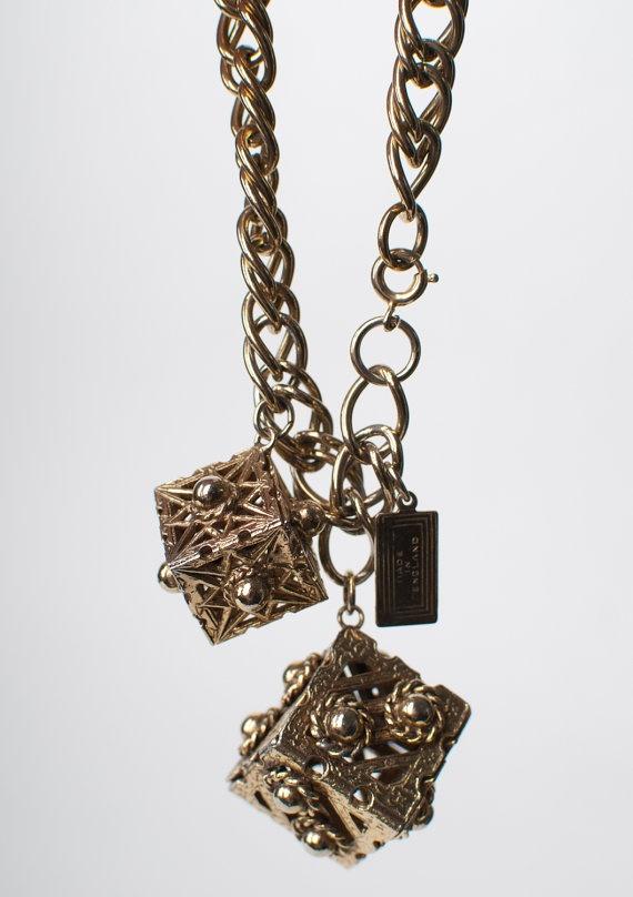 Coro Vintage Charm Bracelet Made in England, £22.00