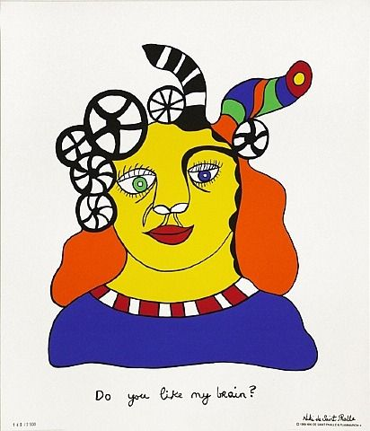Do You Like My Brain? | Niki de Sainte Phalle (1999). Some authors are opposed to the idea of giving prominence to new technologies as they are capable of taking over the human mind, changing the ways of thinking and processing information. Our retention and concentration skills have been reduced because of the use of new technologies and therefore this situation has affected the way students learn in schools and in their houses.
